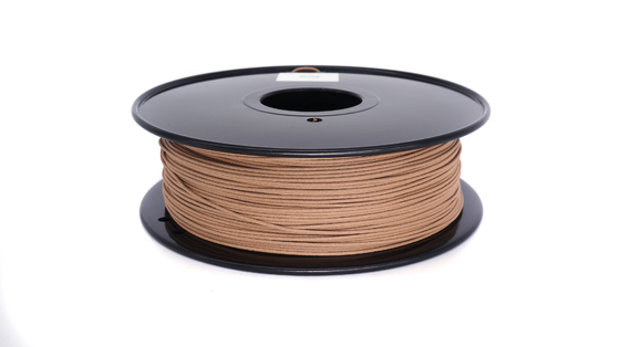 Soild 3d Printer Wood Filament Anti - Corrosion 310m Długość 0.8KG / Rolka